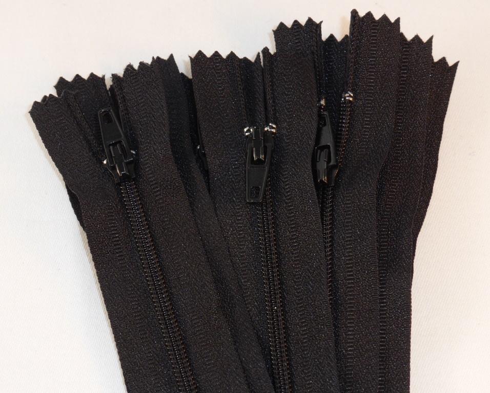 obermueller kurzwaren garne und schneidereibedarf rei verschluss kstst schwarz 20cm 22cm. Black Bedroom Furniture Sets. Home Design Ideas